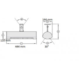 Infražiarič SOLAMAGIC 1400 BASIC titánová