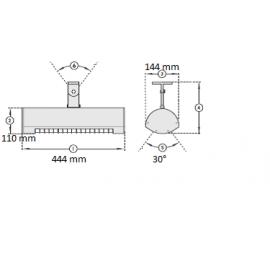 Infražiarič SOLAMAGIC 1400 BASIC antracitová